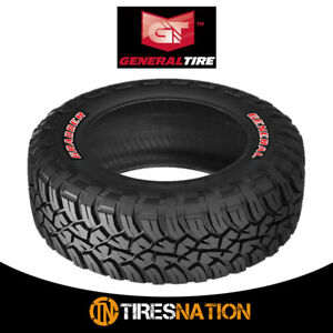 1 New General Grabber X3 265 75 16 112 109q Off road Max Traction Tire