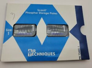 Scan X Phosphor Storage Plates Air Techniques Size 1 Dental Xray Plate X Ray