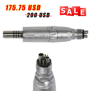 Coxo Led Dental Low Slow Speed Air Motor 6hole Handpiece Internal Spray Water St
