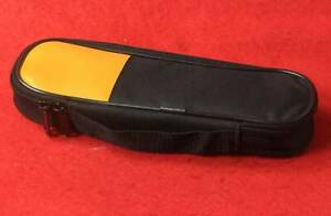 New Double Zipper Carry Soft Case bag Use For Clamp Meter Fluke T5 600 T5 1000