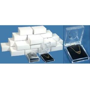 24 Clear Crystal Pendant Gift Boxes 2 3 4