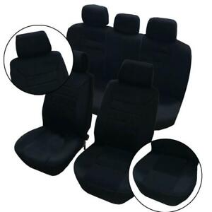 All Seasons Car Seat Covers Low Back Seat Covers Head Rest Covers 14 Pieces
