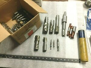 25 Lbs lot Used Machine Tool Bits Machinist Tools Condition Unknown