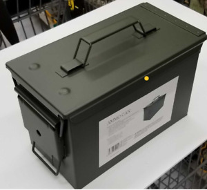 .50 Cal Ammo Can Military Quality Ammunition Bullet Storage Box Brand New Green $22.59