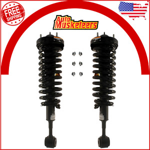 2 Front Complete Strut Coil Spring Set 2pcs Kyb For 2004 2008 Ford F150 4wd