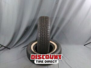 2 Used 235 75 15 Vogue Classic White 75r R15 Tires 33289