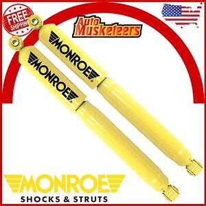 Monroe Gas Magnum Rear Shock Absorber Lh Rh Pair For Chevy Gmc Pickup Truck