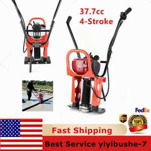 Gx35 37 7cc 4stroke Gas Concrete Wet Screed Power Screed Cement 1 6m Blade 1 2hp