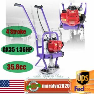 4 Stroke Gasoline Cement Power Screed Concrete Wet Screed Gx35 Fits 1 6m Blade