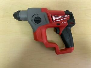 Milwaukee 2416 20 12v 5 8in M12 Fuel Sds Plus Rotary Hammer tool Only