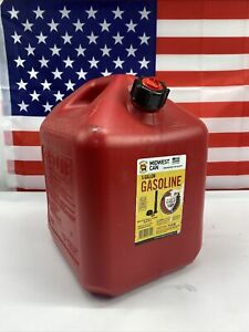 Midwest Gas Can Model 5610 Gasoline Container 5 Gallon