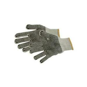 Gu2797 Silverline Double sided Dot Gloves One Size Diy Safety And Workwear Tool