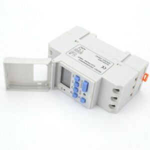 Digital Lcd Power Timer Programmable Relay H Supply Switch Ac220v 16a 250v Ac