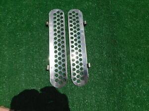 Vintage Style King Gm Air Deflectors With Holes Wind Noise Reducers 1940 S 1950