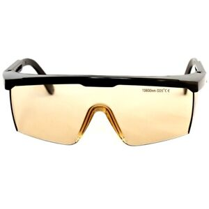 Laser Protective Glasses 10600nm 10 6um Co2 Ce Safety Goggles Od5 W Box