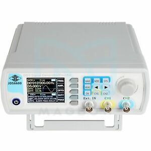 Signal Generator Counter dual channel Arbitrary Frequency Counter 60mhz Dds