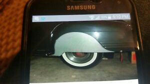 1941 Plymouth Fender Skirts New Steel Nice