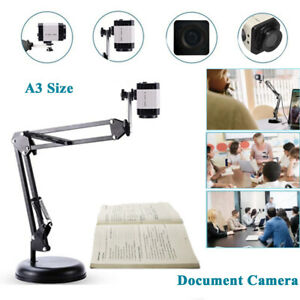 Portable 8mp Hd Document Camera Foldable A3 Size Usb Document Camera For Meeting