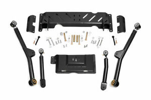 Rough Country Adjustable Long Arm Kit Fits 1984 2001 Jeep Cherokee Xj 4 6
