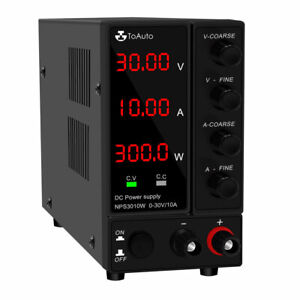 30v 6a 10a Dc Power Supply Variable Adjustable Regulated Dc Bench Switching Usb