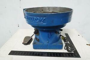 Syntron Bb01c Vibratory Bowl Parts Feeder 115 Vac 16 In T125597