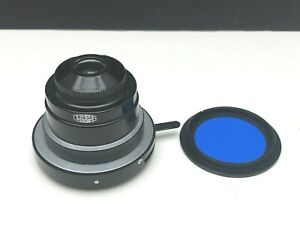 Olympus Ch2 Microscope Substage 1 25 Abbe Condenser W filter Aperture Diaphragm