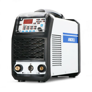 Andeli Tig 250mpl Welder Mos Tube Multi function With Hot cold Pulse 110 220v