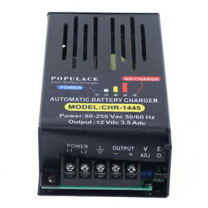 Automatic Battery Charger For Generator Fast Ship 110v 220vac Chr 1445 14v 3 5a