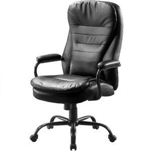 Big And Tall Office Chair heavy Duty Executive Computer Chair adjustable Desk C