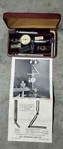 Gem Instrument Company Dial Indicator Model 325 With Arms And Original Case