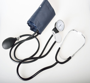 Manual Blood Pressure Watch With Stethoscope