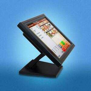 15 Touch Screen Lcd Monitor Touchscreen Usb Monitor multi position Pos Stand