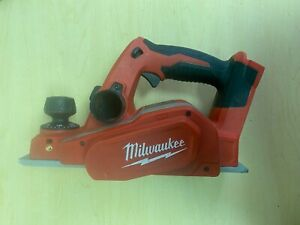Milwaukee 2623 20 M18 3 1 4 In Cordless Planer tool only