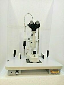 2 Step Slit Lamp Zeiss Type With Accessories Ophthalmology Free Dhl Ship