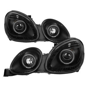 Xtune For Lexus Gs300 Gs400 Gs430 98 05 Halogen Only Halo Projector Headlights