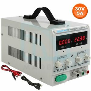 30v Lw 305kds 5a Variable Linear Adjustable Lab Dc Bench Power Supply