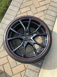 2017 2021 Oem Civic Type R Rims And Tires With Oem Lug Nuts Full Set