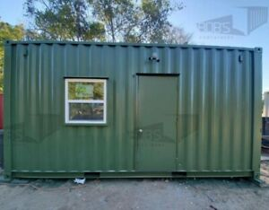 20 Ft Container Home the Fort Worth Model