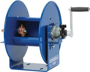Coxreels 112wcl 6 01 Welding Hand Crank Cable Reel For 1 Awg Cable 150 Cable