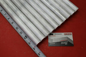 10 Pieces 7 8 Aluminum 6061 Round Rod 14 Long Solid T6511 Lathe Bar Stock