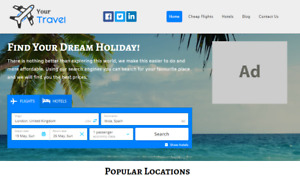 Your Own Travel Comparison Website Earn Money Online Free Domain