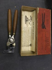 Lyman Ideal bullet mold 357443 single cavity with handles and vintage box 158 gr $74.00