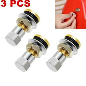 3pcs Fuel Gas Can Vent Caps For Fuel Gas Water Can Jug To Allow Faster Flowing