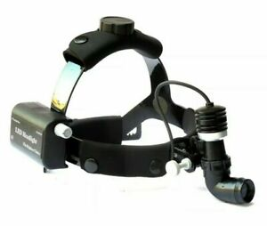Headlight Ent Surgical Headlamp Led 10 Watt Wireless Rechargeable With Bag