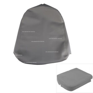 Leather Armrest Center Console Lid Cover Fit For Dodge Ram 2002 To 2008 Gray New