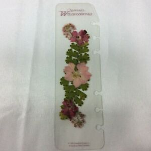 Nature s Wildflowers Compact Flower Page Finder Insert Franklin Covey 95 Quest 1