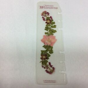 Nature s Wildflowers Flower Franklin Covey Page Finder Insert Compact 95 Quest 6