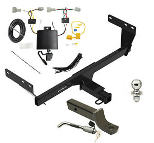 Trailer Tow Hitch For 2021 Nissan Rogue Deluxe Package Wiring 2 Ball Mount Lock