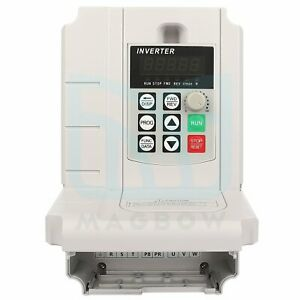 Vfd 3 To 3 Phase 380v 20a 10hp 7 5kw Variable Frequency Drive Inverter