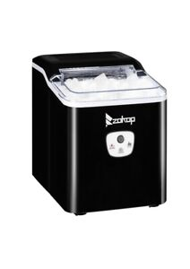 Portable Ice Maker Machine Countertop 26lbs 24h Self cleaning W Scoop Black